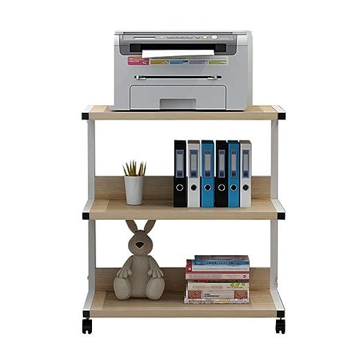Soporte De Impresora Mesa De Oficina Con Ruedas|Estante De ...