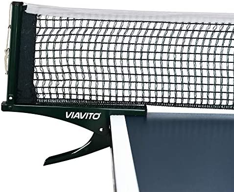 Viavito Iziclip - Juego de red y postes para tenis de mesa: Amazon.es: Deportes y aire libre