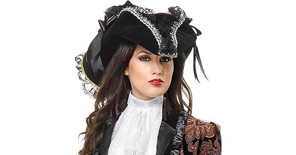 Amazon.com: Deluxe Negro y Plata Terciopelo adulto disfraz ...