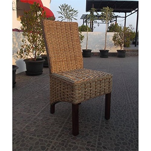 International Caravan SG-3301-1CH-IC Furniture Piece Bayu Banana and Seagrass Dining Chair by International Caravan (Image #2)