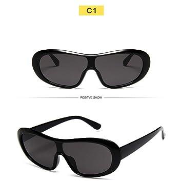 Amazon.com : YLNJYJ Gafas De Sol Ovaladas De Las Mujeres ...