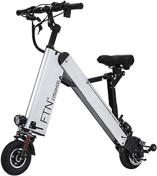GJBHD Bicicleta Eléctrica Plegable para Adultos Ultraligero ...