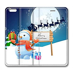 DIY Christmas Gift Leather Case for Iphone 6 Plus Gift