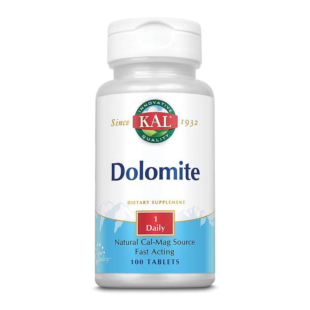 Amazon.com: kal dolomita 250 mg tabletas, 100 Count: Health ...