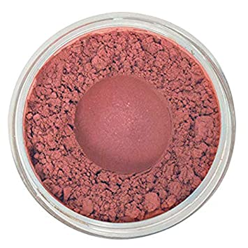 Mineral Blush Highlighter – Makeup Loose Powder Blendable, Long Lasting Buildable Coverage – Natural Makeup 9 grams, Glistening Sun