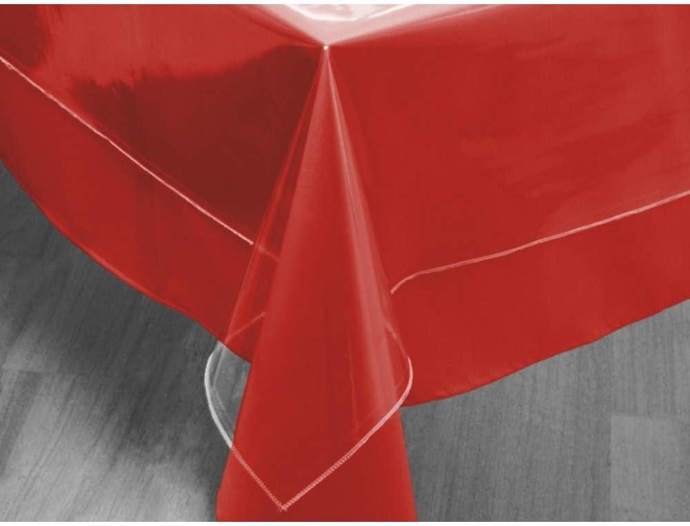 Soleil d'ocre Mantel Rectangular Transparente 140x200 cm Cristal