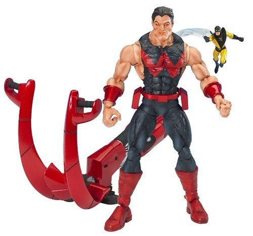 Marvel Legends Legendary Riders Figure: Wonder-Man in Black Outfit with Red Trim