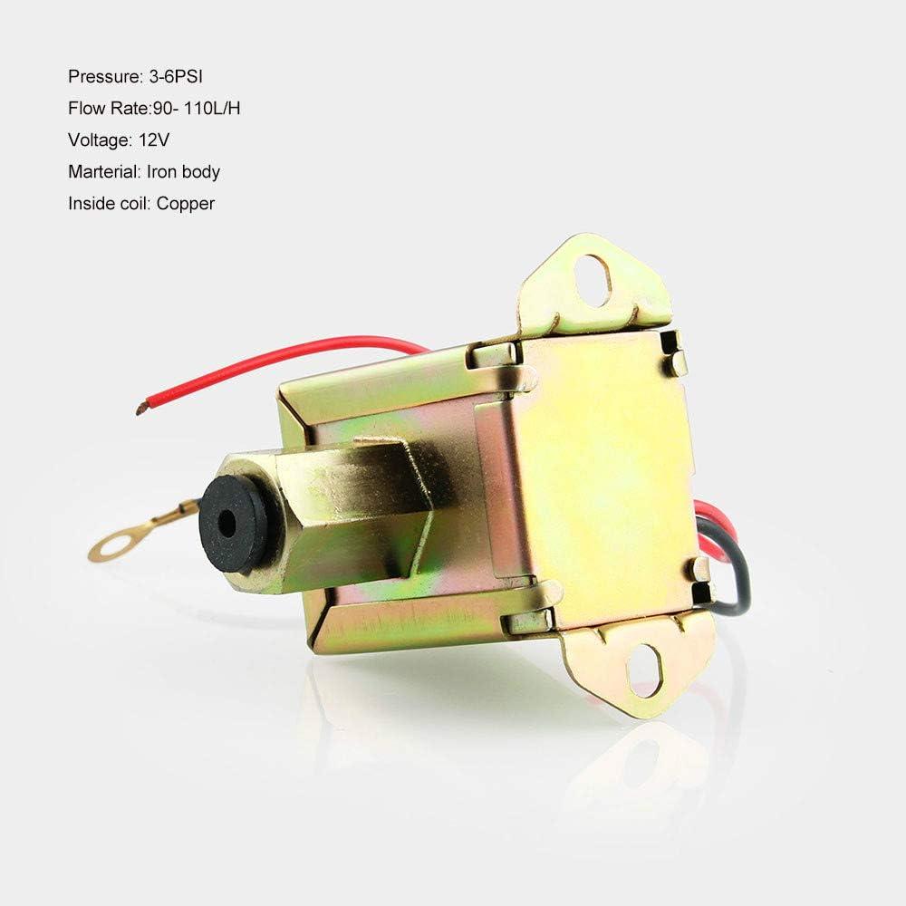 Leepesx Pompe /à essence /électrique universelle /à facettes avec pompe /à essence 12V et filtre en ligne pour moteur /à essence diesel