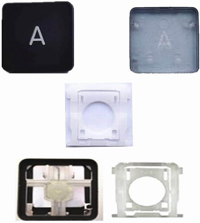 Replacement Individual AP08 Type Up//Down Key Cap and Hinges are Applicable for MacBook Pro Model A1425 A1502 A1398 for MacBook Air Model A1369//A1466 Keyboard to Replace The UP//Down Key Cap and Hinge