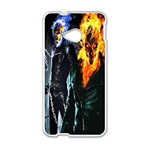 Personalized Creative Ghost Rider For HTC One M7 LOSQ332308