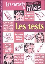 Les tests : Les carnets de l'encyclo des filles