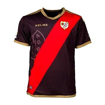KELME Camiseta Segunda equipacion A.D.Rayo Vallecano 2018-2019 (S): Amazon.es: Deportes y aire libre