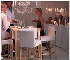 IKEA björkudden - mesa de Bar, 70 x 70 cm - de abedul: Amazon.es ...