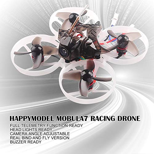 Wikiwand Happymodel Mobula7 75mm 2S Brushless Whoop FPV Racing Drone Standard Version by Wikiwand (Image #4)