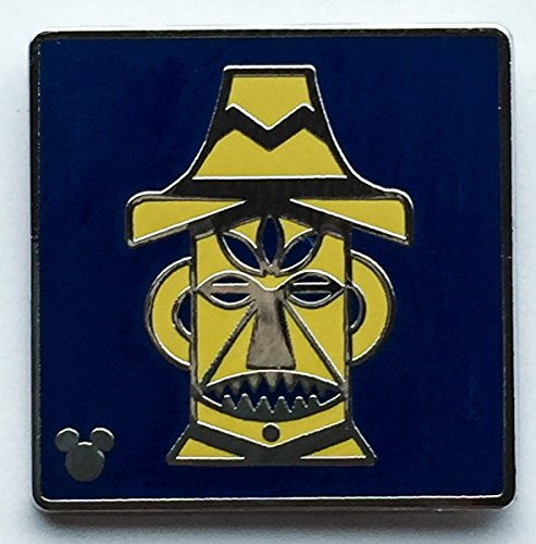 Disney Pin 119769 DLR - 2017 Hidden Mickey - Attraction Icons - Enchanted Tiki Room Pin