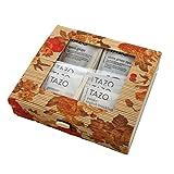 Bamboo Storage Tea Box - Tazo Tea Set, 20 Tazo Tea Bags, 10 Tazo Flavor Assortment (Autumn Blossom)