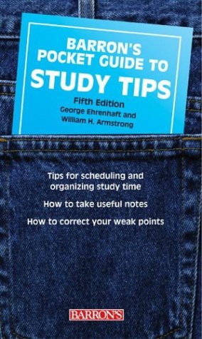 Pocket Guide to Study Tips (Barron's Pocket Guides)