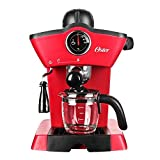 espresso oster - Oster BVSTEM4188 Red Steam Espresso Cappuccino Maker (Not in USA), 220V, Red