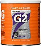 Gatorade Perform G2 02 Perform Thirst Quencher Instant Powder Grape Drink 19.6 Oz. (1 Each)