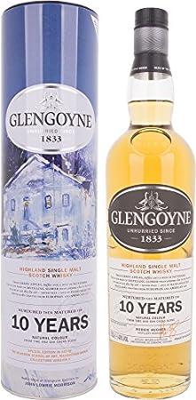 GLENGOYNE Winter Limited Edition - Scotch Whisky Highland Single Malt en caja de regalo, 700 ml