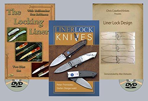Making Linerlock Knives Set (2 DVDs + Book)