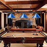 Wellmet 3 Light Pool Table Light for Game Room