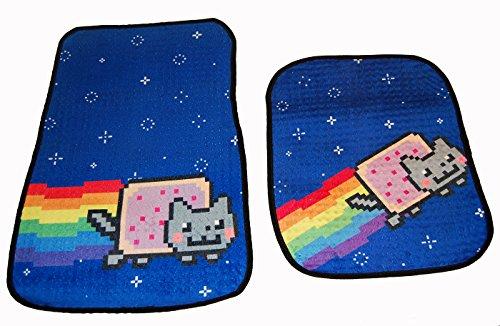 cat floor mats for car - 1