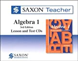 Saxon Algebra 1: Homeschool Teacher CD-ROM Package Third Edition 2008