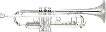 Yamaha YTR-8335IIGS Xeno Professional Trumpet- Silver Plated Finish