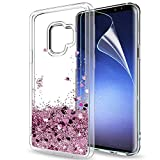 Samsung Galaxy S9 Glitter Case with HD Screen...