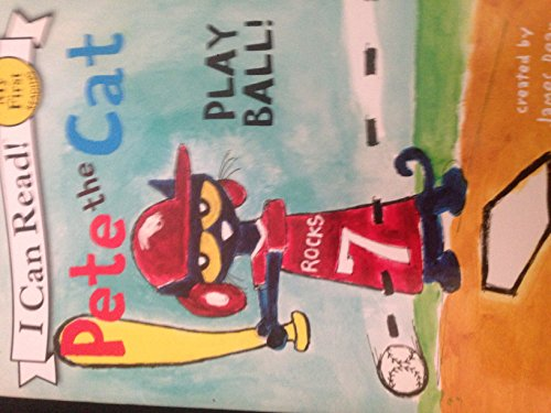 i can read - pete the cat play ball ()