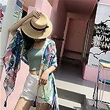 ZHANGYONG Ladies Womens Shawl Wrap Stole Silk Scarf Shawl Seaside Shawl Dual-Use Beach Towel