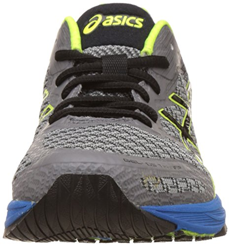 Asics Heren Gel-ds Trainer 22, Carbon / Zwart / Veiligheidsgeel Carbon / Zwart / Veiligheidsgeel