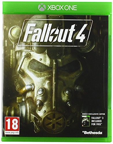 Fallout 4 (with Fallout 3 DLC) Xbox One Game by Bethesda