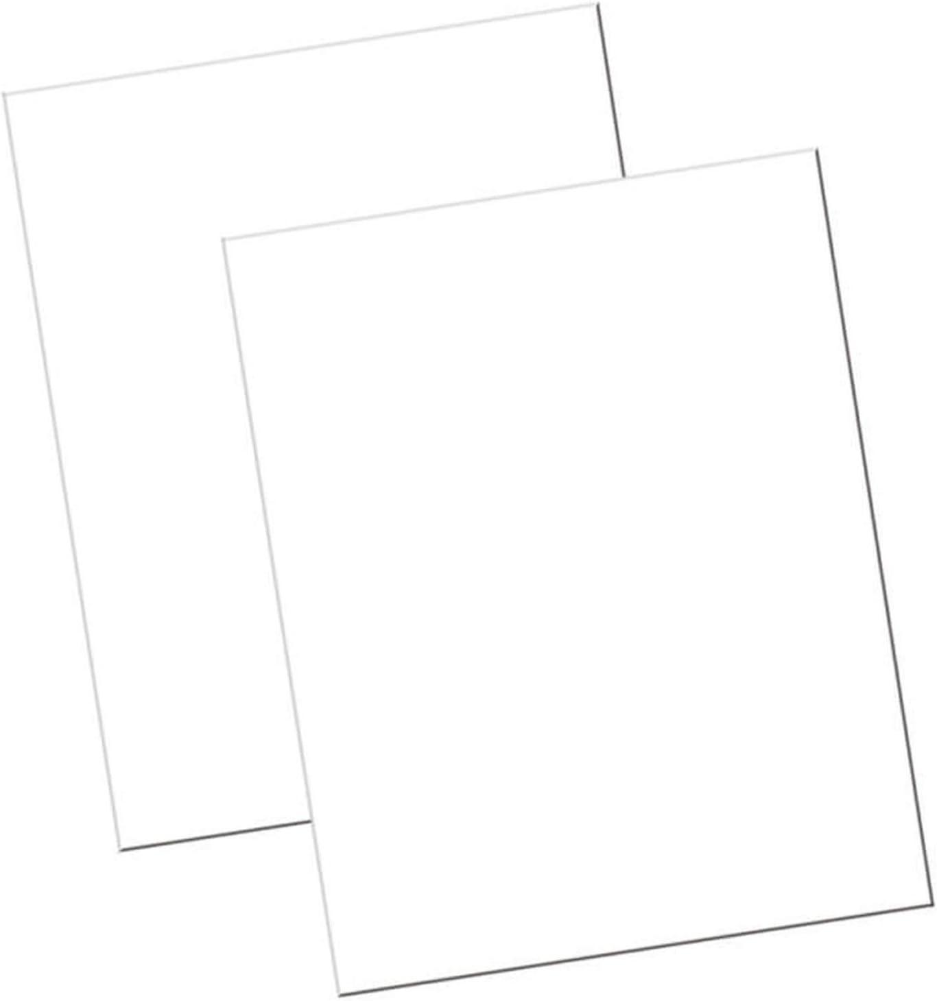 "UCreate Economy Poster Board, White, 22"" x 28"", 100 Sheets/Carton"