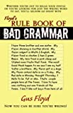 Floyd's Rule Book of Bad Grammar, Gus Floyd, 074143346X