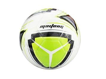 PhysCool Pelota de fútbol (talla 5), color verde y naranja, size 5 ...