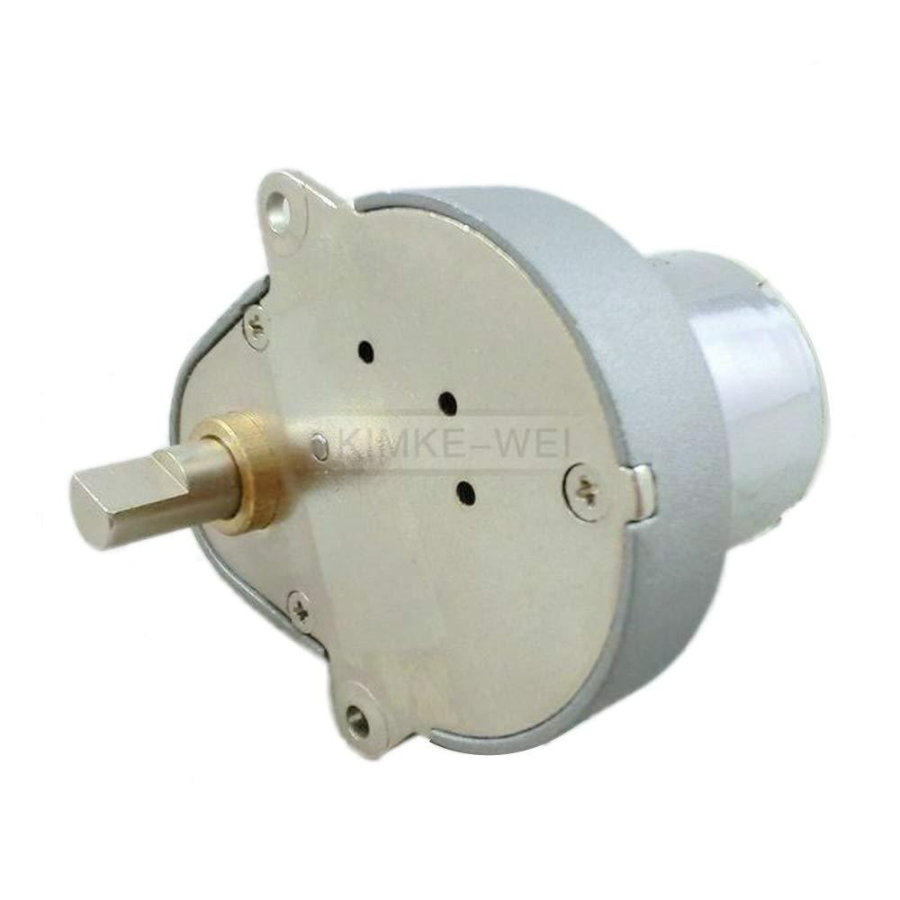 12V DC 48GE 58RPM Gear Motor Mini High Torque Geared Gear Eccentric Output Shaft