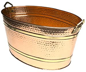 Old Dutch Solid Copper Oval Party Tub