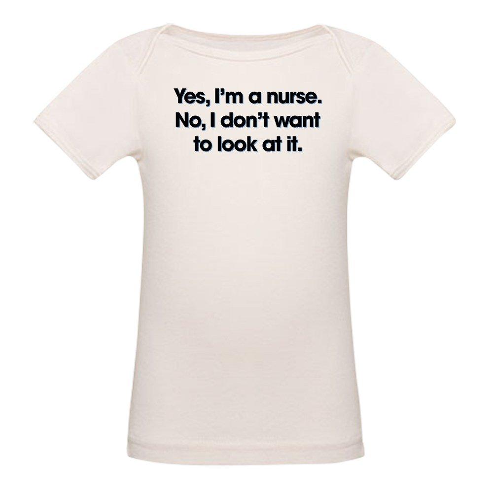 CafePress Yes Im A Nurse Organic Cotton Baby T-Shirt