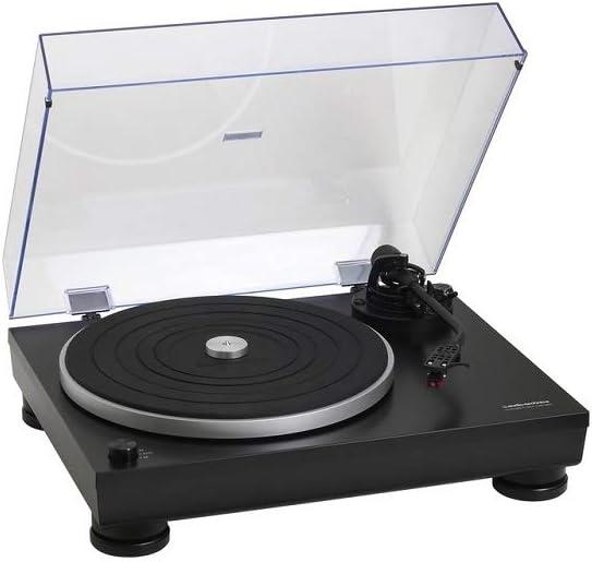 Giradiscos Audio-Technica At-LP5X Color Negro, Alta Fidelidad de ...