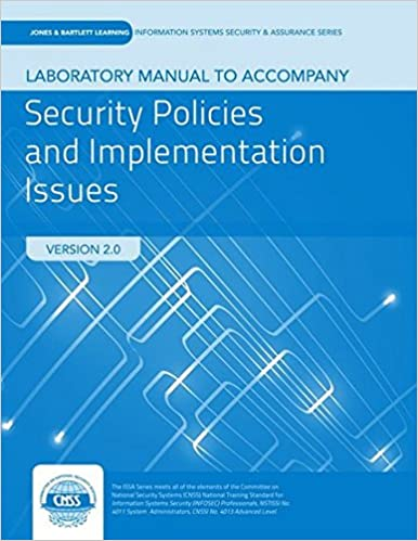 Lab manual to accompany security policies and implementation issues lab manual to accompany security policies and implementation issues 2nd edition fandeluxe Choice Image