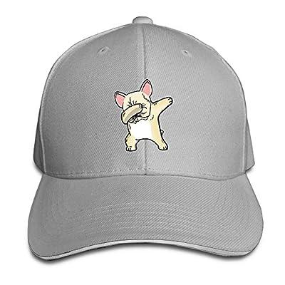 Fenme Dabbing Dog Unisex Sandwich Caps Cool Snapback Hats Funny Trucker Hats Graphic Snapback Cap