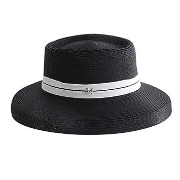 Qiiueen Sombrero De Mujer, Sombrero De Copa Francés Retro, Cinta ...