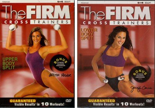 (The Firm Cross Trainers - Lower Body Split / Upper Body Split (2pack))
