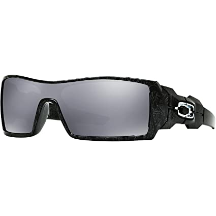 df10497e3 ... good oakley oil rig mens lifestyle sports sunglasses eyewear polished  black silver ghost text da230 25c97