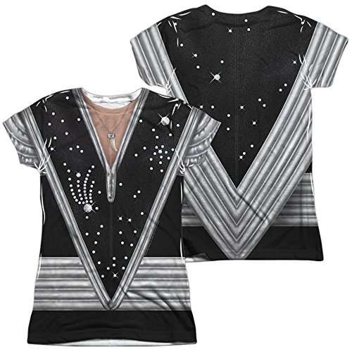 Kiss Spaceman Costume Women's Front Only Sublimated T Shirt ()