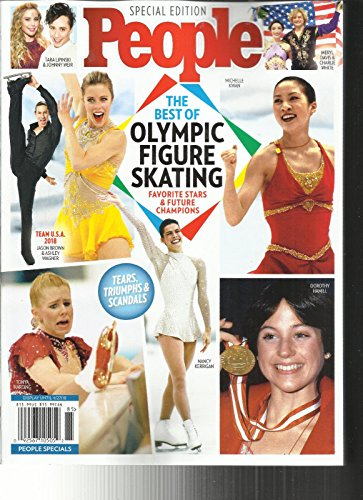 People Magazine Special Edition  The Best Of Olympic Figure Skating Issue 2018