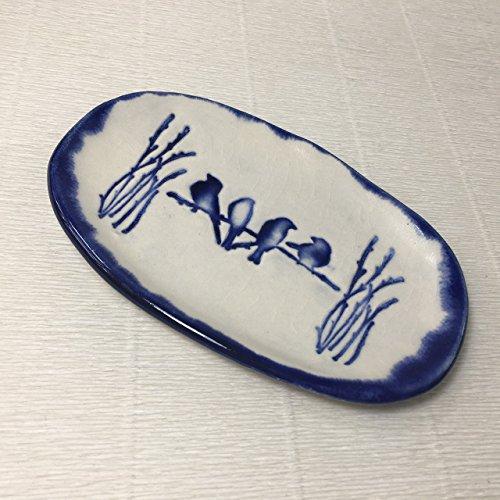 Bird Spoon (JANECKA Blue Bird / Handmade Pottery 6.5