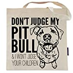 Don't Judge My Dog Tote Bag by Pet Studio Art 8